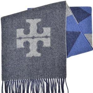 Tory Burch Carnavalet Wool Scarf